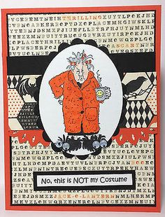 MOMZ Laura's Handmade Card Kit Maude Halloween by Art Impressions