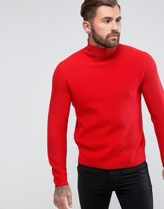 Get this Ps By Paul Smith's turtleneck now! Click for more details. Worldwide shipping. PS by Paul Smith Chunky Turtle Neck in Red - Red: Jumper by PS By Paul Smith, Cotton and wool-mix chunky knit, Turtle neck, Regular fit - true to size, Machine wash, 50% Cotton, 50% Wool, Our model wears a size Medium and is 189cm/6'2.5 tall. Designed in the UK, PS by Paul Smith bears all the hallmarks of Sir Paul Smith�s individual and quintessentially British style. Signature prints are spread across…