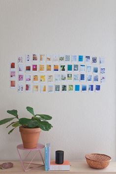 Urban Outfitters - Blog - UO DIY: Rainbow Instax Collage