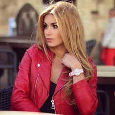 beautiful @pamela_rf wearing Campina Peach