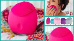 The Foreo Luna Mini for daily deep cleansing.