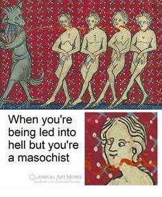 Classical Art Memes on - Funny art memes, modern art memes 9gag Funny, Stupid Funny Memes, Funny Art, Hilarious, Funny Profile Pictures, Funny Pictures, Medieval Memes, Medieval Art, Classical Art Memes