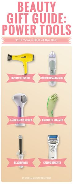 Beauty Gift Guide: Power Tools For Chicks