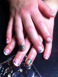 dragon fly nails