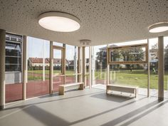 Secondary School, Wiener Neustadt (Austria) - Rubner Holzbau - The ideal partner for large wood projects