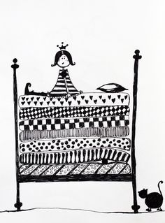 Printesa si bobul de mazare - Madalina Dumitru