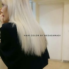 Winter blonde Winter Blonde, Hair Colour, Color, Hair Inspo, Tulle, Makeup, Artist, Ideas, Fashion