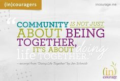 Community Groups at (in)Courage