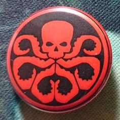 Button Badge #Hydra #Marvel #Comics
