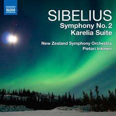 Sibelius: Symphony No. 2 / Karelia Suite - Naxos CD. £6.95