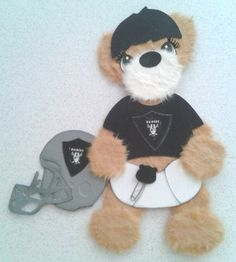 Baby Football Raiders Wearing Diaper Summer Spring Tear Bear Kira AP4P | eBay