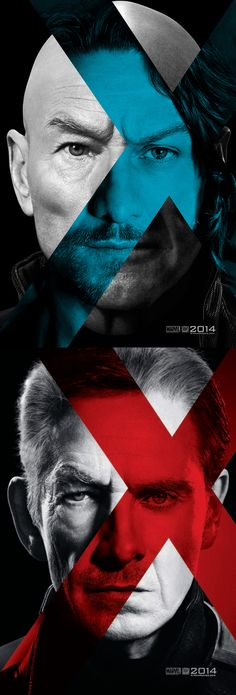 A Muddled Future and Past: Prof. X and Magneto :: X-men: Days of Future Past. So excited!!!