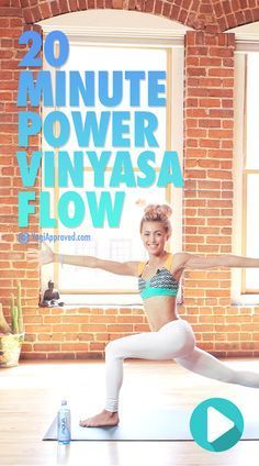 20-Minute Power Vinyasa Yoga Flow (Free Class)