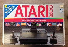 Atari 2600 Vader Black 4 Switch Console System CIB Bundle With 20 Games - http://video-games.goshoppins.com/video-game-consoles/atari-2600-vader-black-4-switch-console-system-cib-bundle-with-20-games/