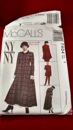 Check out this item in my Etsy shop https://www.etsy.com/listing/491007034/mccalls-pattern
