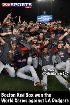 bfd3e09b6 Boston Red Sox won the World Series against LA Dodgers - Net sports 247   Boston