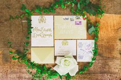 Hand drawn invitations Style Me Pretty: Doucet Lettering Invites