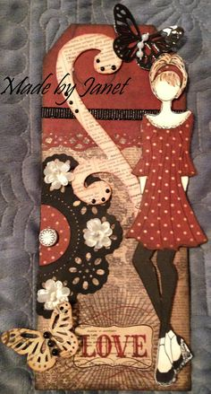 would never buy or make these prima's but this one is cute! Love One Another - by Janet Grimmer