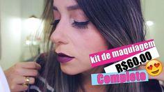 Comprinhas 25 de março   kit completo de maquiagem baratinho