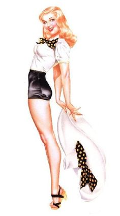 cuz at some point ill have a pinup tat....Vargas pin up art. fave!!