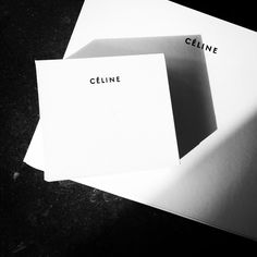 Céline uses Futura font