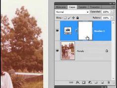 Restaurar foto de color antigua
