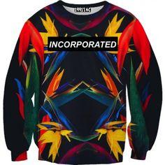 Paradise Sweater    #birdsofparadise