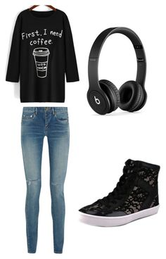 """""""This is what my best friend hannah would wear"""" by vianey456 ❤ liked on Polyvore featuring interior, interiors, interior design, home, home decor, interior decorating, Yves Saint Laurent, Rebecca Minkoff and Beats by Dr. Dre"""