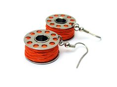 Bobbin Earrings?  Kinda funny but would be great at a quilt retreat!