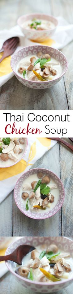 Tom Kha Gai is Thai