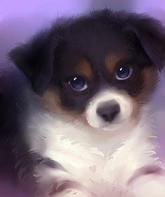546 meilleures images du tableau dessins mignons cute drawings drawings et childhood - Dessin chien mignon ...