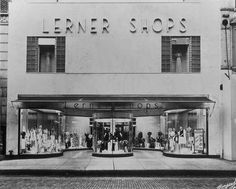 Lerners- the best place to buy clothes back in the day!