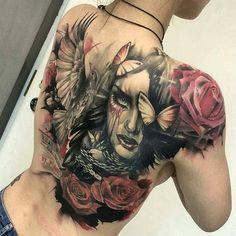 Beautiful piece by @tattoojinn