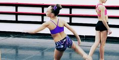 When this crazy flexible thing happened: | 17 Times Maddie Ziegler's Dance Moves Blew Your Freakin' Mind