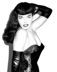 bettie page picutres | ... or 40 s 50 s look either wants to look like bettie page or has