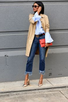 Pumps by Vince Camuto Casual Street Style, Work Casual, Casual Looks, Jean Outfits, Chic Outfits, Fashion Outfits, Selfies, Vetement Fashion, Stylish Clothes For Women