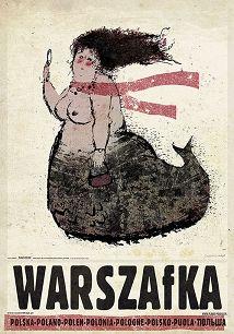 Warszafka, plakat z serii Polska, Ryszard Kaja
