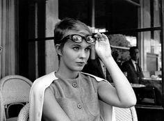 Jean Seberg by Jean-Luc Godard, 1960