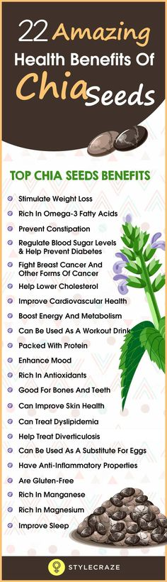22 Amazing Health Benefits Of Chia Seeds 22 Amazing Health Benefits Of Chia Seeds benefits detox Chia Benefits, Health Benefits, Health Tips, Chia Seeds Side Effects, Chia Seed Breakfast, Salvia Hispanica, Chia Seed Smoothie, Prevent Diabetes, Lower Cholesterol