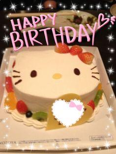 一度はもらってみたい!可愛すぎる誕生日ケーキ画像まとめ♡|MERY [メリー]