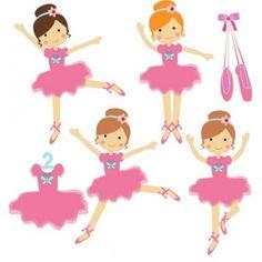 Cute Little Ballerina Girl Tiara Hearts Stock Vector ...   Ballerina Tiaras Cartoon
