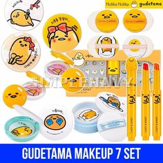 Holika Holika Gudetama Makeup 7 Set #HolikaHolika