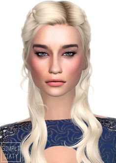Sims 4 CC's - The Best: Daenerys Targaryen by Simpliciaty