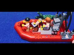 【LEGO】レゴシティ 創作ドラマ 沼地のアジトでストーリーを作ったよ!寸劇が雑でオサム苦笑・・・【オサ4歳】