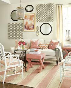 Home furnishings ideas living room warm shades pastel
