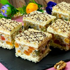 Sweets Recipes, No Bake Desserts, Cookie Recipes, Romanian Desserts, Romanian Food, Serbian Recipes, Sweet Tarts, Fun Cooking, Cake Cookies