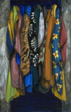 Colin Smith, 'Wardrobe Each clothing piece has its own pattern, and the closet itself is a patter. Franz West, Peter Blake, My Art Studio, Contemporary Abstract Art, Gcse Art, Heart Art, Art Education, Painting Inspiration, Art Lessons
