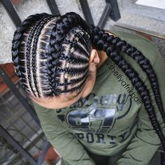 816699713664667796 African Braids Hairstyles - the image can conte Source by Two Braid Hairstyles, African Braids Hairstyles, Black Hairstyles, Hairstyles 2018, Braids For Kids, Girls Braids, Kid Braids, Curly Hair Styles, Natural Hair Styles
