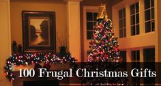 frugal christmas gifts - Click image to find more Holidays & Events Pinterest pins
