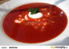 Pikantní polévka z červené řepy - super detox recept - TopRecepty.cz